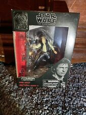 Star Wars Han Solo Black Series 3.75 40th Anniversary Die Cast Titanium Series