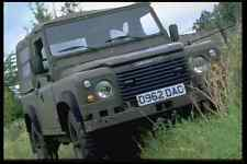 Metal Sign British Uk Cars 354084 Land Rover 100 Inch Military Vehicle 1986 A4 1