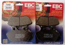 Harley Davidson FXDS-CON Dyna Convertible (00 - 02) EBC Organic FRONT Brake Pads