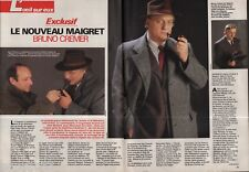 Coupure de presse Clipping 1991 Bruno Cremer (4 pages) Maigret