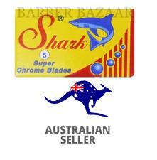 Shark Super Chrome Double Edge Razor Blades | AUS SELLER