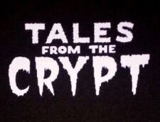 PATCH - Tales from the Crypt - canvas screen print HORROR - Cryptkeeper keeper