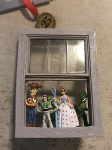 Christmas Ornament ~ Disney Sketchbook Toy Story In Window 25th Anniversary