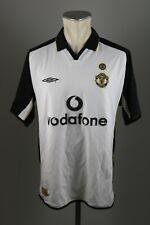 Manchester United Trikot Gr. L 2001-2002 Third Shirt vodafone Umbro Jersey