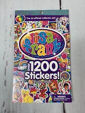 Lisa Frank Sticker Sheet Book Collector Set
