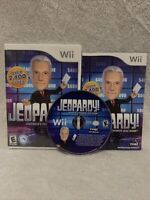 JEOPARDY Nintendo Wii COMPETE CIB With Manual, Tested & Working, FREE SHIPPING!
