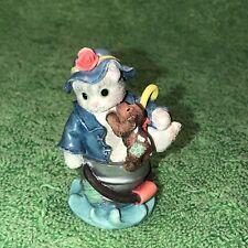 "Enesco Calico Kittens ""Friendships Are Like Sunshine Rain� Cat Figurine 296953"