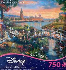 New ListingThomas Kinkade Studios Disney's 101 Dalmatians 750 Ceaco Puzzle