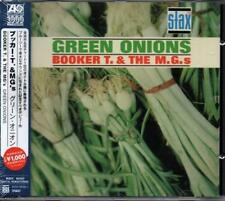 BOOKER T & THE MGs Green Onions NEW & SEALED CLASSIC 60s SOUL CD MOD R&B