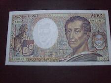 billet 200F MONTESQUIEU NEUF 1990