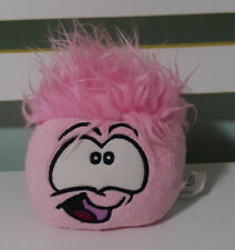 CLUB PENGUIN PLUSH TOY PINK PUFFLE KIDS TOY! BEANS IN BUM 12CM DISNEY!