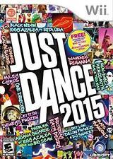 Just Dance 2015 RE-SEALED Nintendo Wii & WII U GAME 15 2K15 GAME