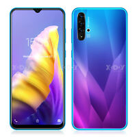 A50 New Android 9.0 Cell Phone Factory Unlocked Dual SIM Smartphone Quad Core 3G