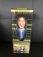 2001 N Sync Lance Bass Bobble Head Doll 8-inch Best Buy Exclusive Brand New