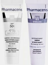 Pharmaceris Whitening SPF 50+ day + night cream pigmentation spot discoloration