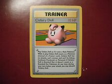POKEMON CARD- CLEFAIRY DOLL TRAINER 70/102 BASE SET SHADOWLESS CARD! (RARE)