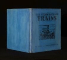 1938 The Story Book of Trains Maud and Miska Petersham Chromolithograph Scarce