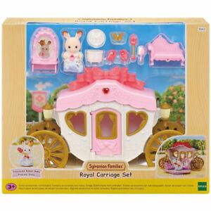 Sylvanian Families Dollhouse Royal Carriage Set