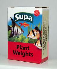 Aquarium Plant Weights Pre-Cut Lead Strips x10 in Box for Fish Tank Plants
