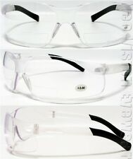 Corodva Dane Clear 2.0 Lens Safety Glasses Bifocal Reading Diopter 2.00 Z87+