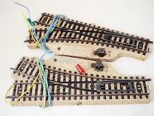Märklin 5203 / 5204 elektr. M-Gleis Weichenpaar