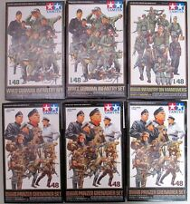 Tamiya 35129 1//35 Soldats allemands au repos WWII