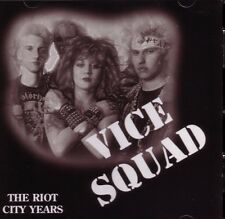 Vice Squad The Riot City Years CD NEW SEALED Punk Last Rockers+