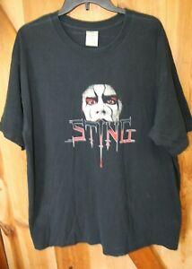 Sting ~ TNA Wrestling ~ Vintage T Shirt ~ Men's XL