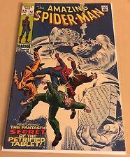 Amazing Spider-Man #74 VF+ last 12 cent issue