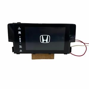 2017 Honda Civic Radio Display Screen Touchscreen 1.5L EX 4DR 39101-TBA-A31 OEM