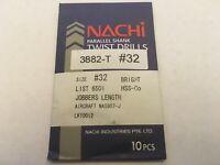 "Pack of 5 Nachi 0011940 7//16/"" HSS 118° Surface Treat Jobbers Length Drill-RH"