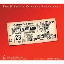 JUDY GARLAND - CARNEGIE HALL CONCERT 2 CD NEUF