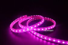 UL Listed,164 Feet,PINK,Dimmable,Super Bright 45000 Lumen 120Volt Flat LED Strip