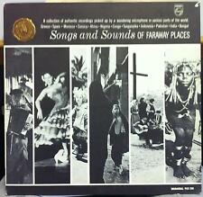 Songs & Sounds Of Far Away Places LP VG+ PCC-201 Faraway Exotic Promo w/Book