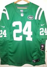 Nike NFL NY Jets Darrelle Revis #24 Stitched Jersey Men's 2xl Green