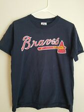 Atlanta Braves Chipper Jones #10 T-shirt (Majestic, Size L)