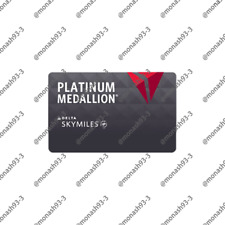 Delta Airlines Platinum Membership Skyteam Elite Plus Status Challenge for 3 MON