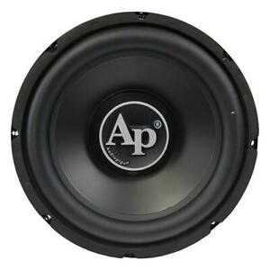 """Audiopipe TSPP215D4 15"""" Woofer Dual 4 Ohm 1500W Max Sold Individually"""