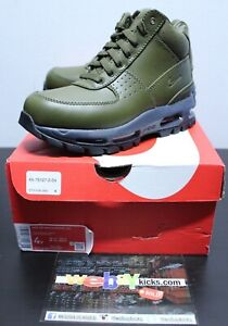 Nike Air Max Goadome Olive Green Boot Men's GS Size 4 CT1128-300 Brand New