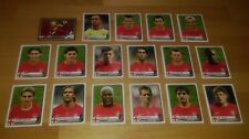 Panini Champions Of Europe 1955-2005 - Liverpool Stickers x17 Complete Team