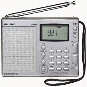 Grundig Model YB 300PE AM/FM 13 Band SW Shortwave Radio