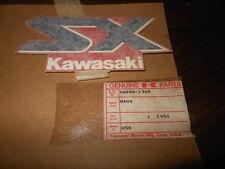 NOS Kawasaki 1989 JF650 Tank Cap Mark Emblem Decal 56050-1398  SX