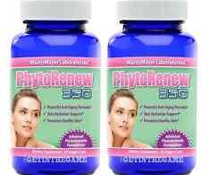 2X Phytoceramides PhytoRenew 350 Anti-Aging Skin Vitamins A C D E Hydration