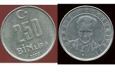 TURQUIE  250  bin lira 2002