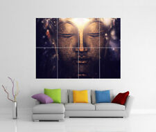 BUDDHA STATUE ORNAMENT GIANT WALL ART PRINT PICTURE PHOTO POSTER