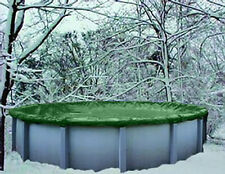 No Reserve > 15' Round Above Ground Winter Swimming Pool Solid Cover 12Yr Wrnty