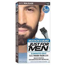 Just for Men Gel Colorante per Barba e Baffi M-55 Nero Conf. da 1