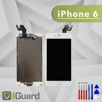 PREMIUM LCD Display für iPhone 6 Weiss VORMONTIERT Screen Ersatz Bildschirm