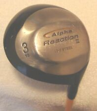 "Alpha Reaction II 15* 3 Wood (Proforce 65 Gold Stiff Flex Graphite) 43 1/4"" RH"