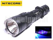 NiteCore MH27UV XP-L HI V3 UV 365nm RED BLUE USB Rechargeable LED  Flashlight
